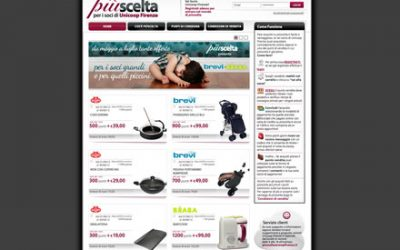 Piùscelta, l'e-commerce di Unicoop Firenze
