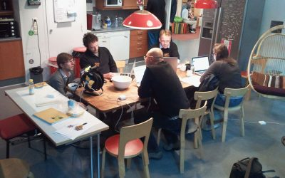 Il primo hackday all'OKFestival