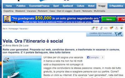 Sailsquare su Repubblica.it!