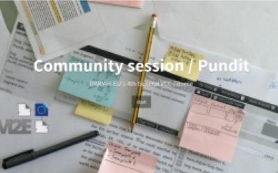 Il racconto della community session su Pundit al DARIAH-EU meeting
