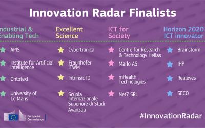 Net7 tra i 16 finalisti per l'Innovation Radar Prize 2016