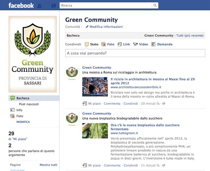 Green Community Provincia di Sassari