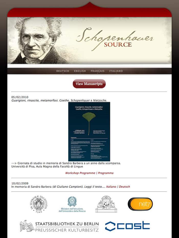 Schopenhauer Source