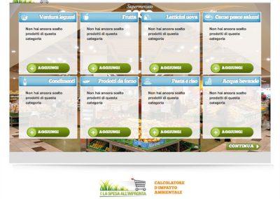 Calcolatore di impatto ambientale