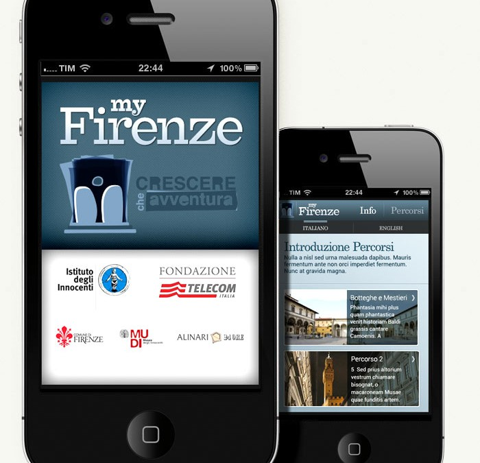 My Firenze mobile app