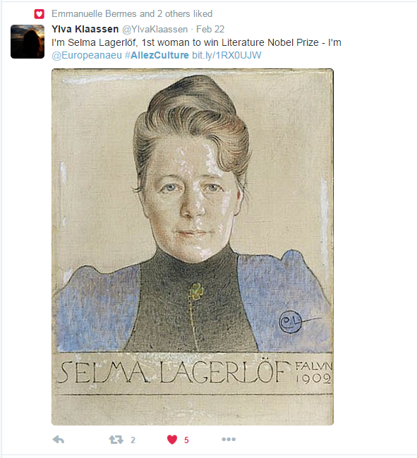 Io sono @Europeanaeu: trova il tuo eroe o la tua eroina su Europeana!