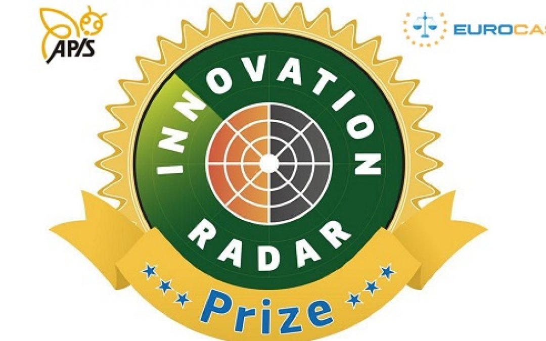 Pundit in short-list per Innovation Radar Prize 2016