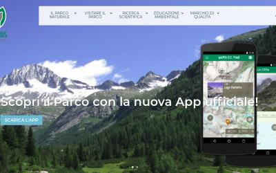 Il Parco a portata di click: Net7 e WebMapp firmano nuovo sito e nuova App del Parco Naturale Adamello Brenta