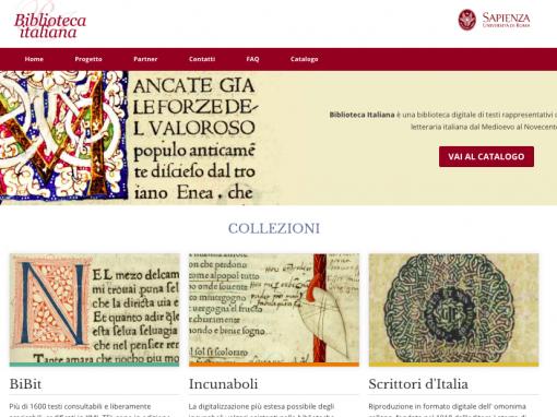Biblioteca Italiana