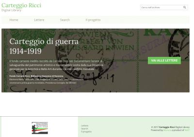 Carteggio Ricci