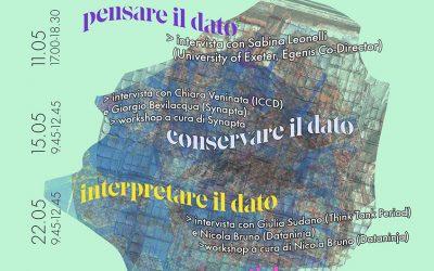 """Storie di dati"": ciclo di conferenze e workshop"
