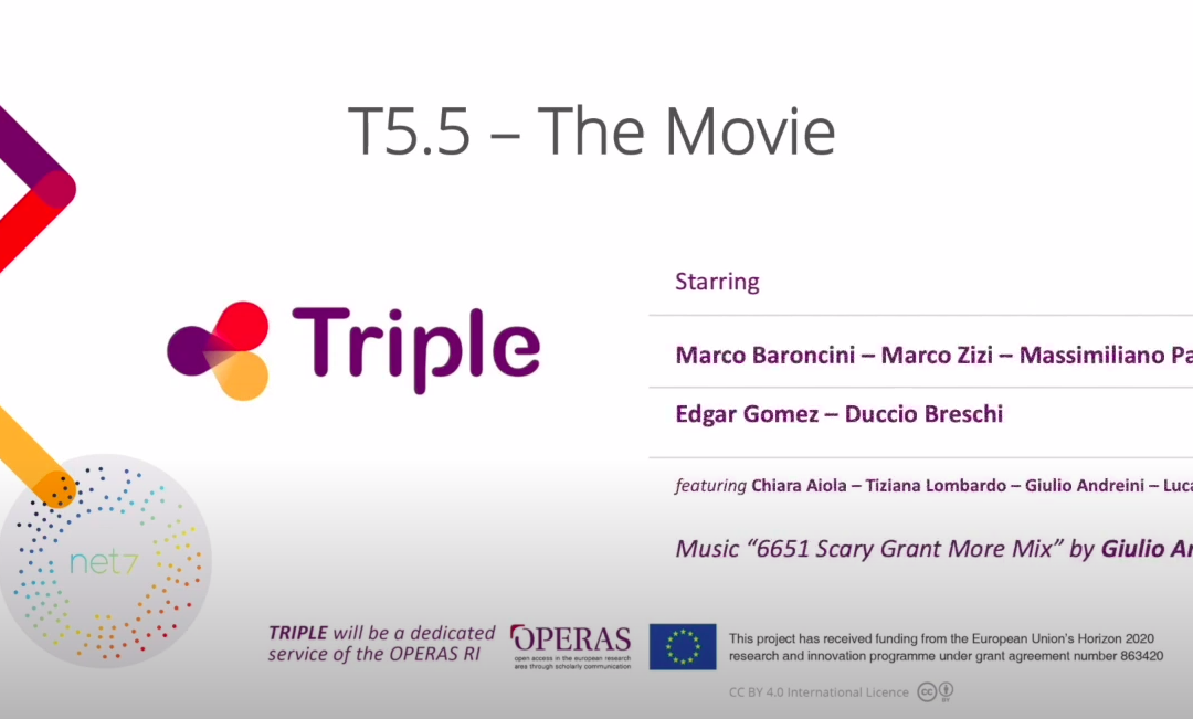 Look mom, we are on YouTube! Net7 presenta la nuova versione di Pundit per il progetto TRIPLE